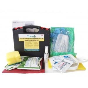 Enfeksiyöz Atık Döküntü Kiti(Body Fluid Spill Kit)