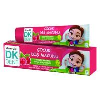 DK Dent Pırıl Ahududu Aromalı Vegan Çocuk Diş Macunu 50 ML