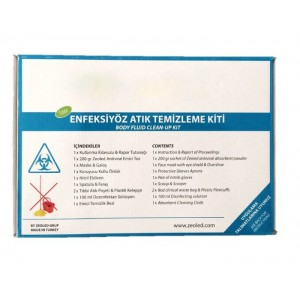 Enfeksiyöz Atık Temizlik Kiti(Body Fluid clean-up Kit)